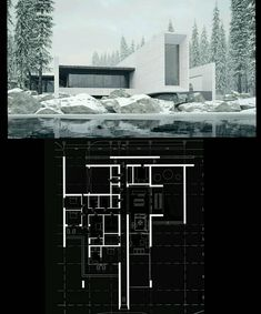 """Father's House Architects: Sergey Makhno & Alexander Kovpak #ukraine There's a place we will always remember. A place where the best childhood memories come from. It's your first nest – your father's home. In Ukraine, we call it a """"batkivska hata"""" which is more than a place, it's a feeling of primary safety and comfort. Here it is, minimalistic and honest to the bones – """"Father's House"""". #floorplan #3dmax www.amazingarchitecture.com ✔️ www.facebook.com/amazingarchitecture A collection of…"""