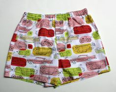 Mens Organic Cotton Boxers Handmade 100% by SewnWithPassion