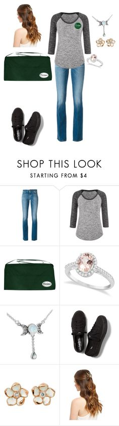 """""""New Job New Beginning"""" by cyberfire ❤ liked on Polyvore featuring 7 For All Mankind, maurices, Allurez, Keds and Shaun Leane"""