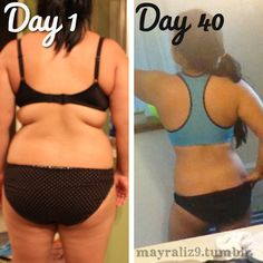 Holy cow!!! Great results from juicing!!!!Progress after my 40 day juice fast/cleanse from the back!!