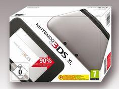 Nintendo 3DS XL -  silber+schwarz