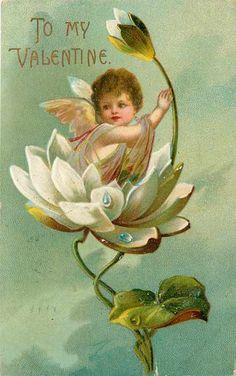 Vintage Valentines Postcard