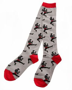 Sock It To Me Ninja Knee High Socks