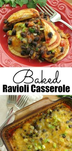 Mexican Baked Ravioli Casserole – just layer and bake! Popular recipe from our make and freeze store. Mexican Baked Ravioli Casserole – just layer and bake! Popular recipe from our make and freeze store. Baked Ravioli Casserole, Ravioli Bake, Casserole Recipes, Pasta Recipes, Ravioli Recipe, Casserole Dishes, Mexican Dinner Recipes, Easy Dinner Recipes, Easy Meals