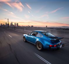 Magnus Walker Minerva Blue 911 930 Turbo