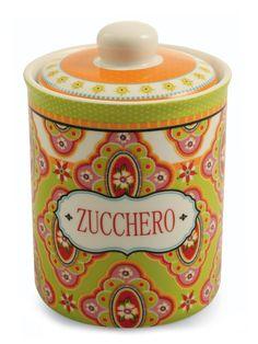 Villa d'Este Dinasty Sugar Jar, Porcelain, Multi-Coloured, 11,5 cm: Amazon.co.uk: Kitchen & Home