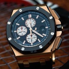 _____________________________________________________  Royal Oak Offshore Ref: #26400 #44mm _____________________________________________________  All credits goes to photographer/ owner @michael.luther  Tag your photos with: #audemarspiguet_fans #audemarspiguet #ap #audemars #piguet #experience #watch #ap_gallery #luxury #platinum #chronograph #tourbillon #exceptional #gold #offshore #quality #handmade #chrono #gallery #bezel #crystal #diamond #woman #tradition #timepiece #gentleman #female…
