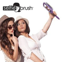"""They call it a """"Selfie Brush"""" because, of course they do. 