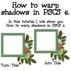 How to Warp Shadows tutorial at Gotta Pixel. www.gottapixel.net/