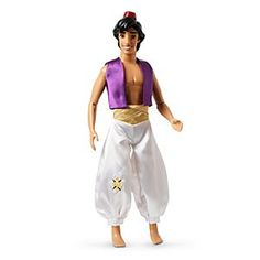 Disney Aladdin Classic Doll - 12'' | Disney StoreAladdin Classic Doll - 12'' - Turn playtime into a fairytale with our Classic Aladdin Doll. Some may think he's a street rat, but we know it's what's inside that really counts. And Aladdin is a prince of princes!