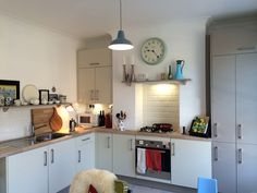 John Lewis kitchen inspired by a mix of Scandinavian interiors and English country kitchens