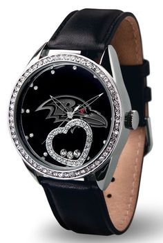 9474678117/947467811704/_B_ This watch is a perfect gift for your favorite sports fan! This beautiful women's watch features the following: Genuine leather strap, Scratch resistant mineral cyrstal len