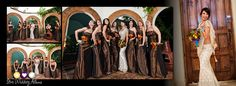 Flush Mount Professional Wedding Album  #bridesmaids #staralbums