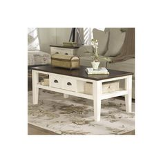 Free Shipping when you buy Signature Design by Ashley Cape Codder Coffee Table at Wayfair - Great Deals on all  products with the best selection to choose from!