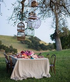 I could picture myself drinking wine here on a warm summer day!