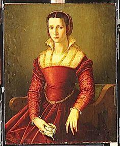 Style of Agnolo Bronzino - Portrait of a woman