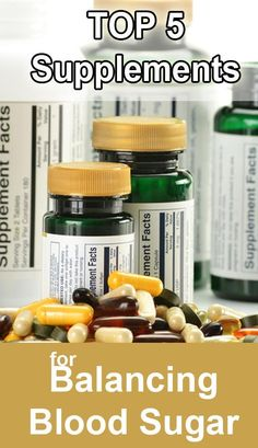 Top 5 Supplements for Type 2 Diabetes