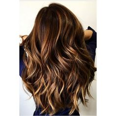 15 Blonde Balayage Looks for Brunettes | Hairstyle Guru ❤ liked on Polyvore featuring beauty products, haircare and hair