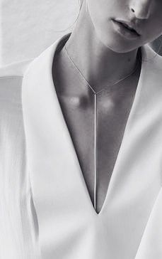 {Sarah & Sebastian for Dion Lee | AW 2015 -- simple, clean, powerful, minimal, and striking jewelry.}