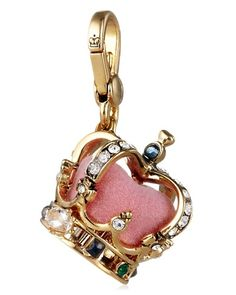 Juicy Couture Gold Crown Charm