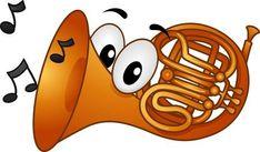 Ilustraci�n Mascot Con Notas Musicales sale de la boca de un cuerno franc�s Smileys, Smiley Emoji, Music Symbols, Cartoon People, Music Decor, Primary Music, Music Pictures, Stick Figures, Illustration
