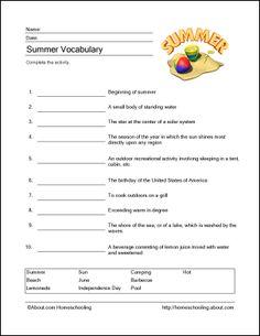 http://homeschooling.about.com/od/holidays/ss/summerprint_2.htm