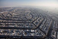 8.) Amsterdam (Netherlands) From Epic Dash...popular places seen from above