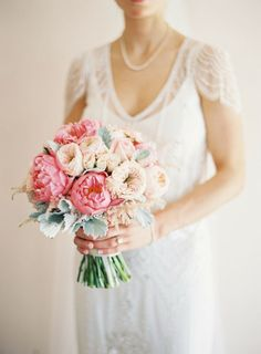20 breathtaking Peony wedding bouquets