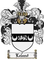 Leland Coat of Arms / Leland Family Crest