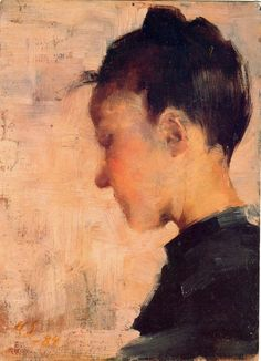 It's About Time: Woman Artist - Helene Schjerfbeck Helene Schjerfbeck, Painting People, Figure Painting, Painting & Drawing, Figurative Kunst, Female Profile, Scandinavian Art, Portrait Art, Girl Reading