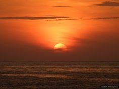 Nascer do sol na Ilha de Marajó - Pará ------- Foto: Carlos Macapuna