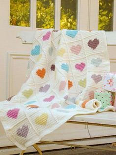 Ravelry: Sweetheart blanket by Nicki Trench