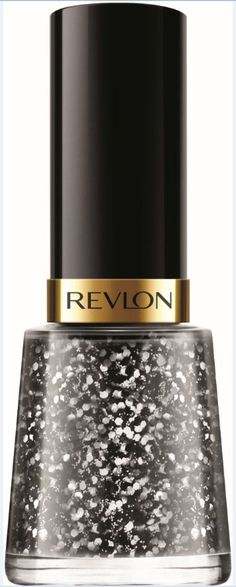Revlon Nail Enamel in Ritzy.  HEY I HAVE THIS. It sucks if you don't use top coat.
