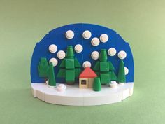 LEGO Snow Globe http://www.flickr.com/photos/88854637@N06/30312683333/