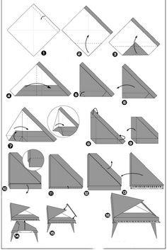 origami piano