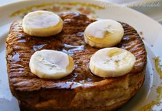 Receitas para a Felicidade!: Rabanadas de Forno com Recheio de Banana e Requeij...