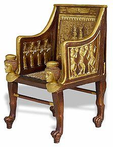 Enjoyable Egyptian Revival Furniture Ocoug Best Dining Table And Chair Ideas Images Ocougorg