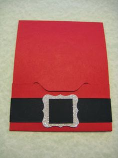 Great Minds Ink Alike: Santa Gift Card Holder
