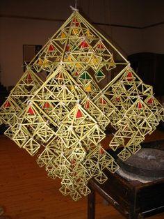 puzuris Handmade Ornaments, Stained Glass Art, Straws, Twine, Folk, Symbols, Decor, Decoration, Popular