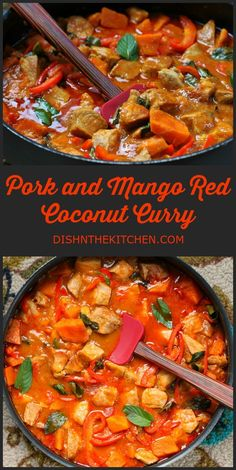 A quick weeknight family curry that checks all the right flavour boxes. #pork #curry #coconutcurry #redcurry #quickdinner