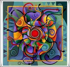Las Revelaciones del Tarot: Significado de Los Colores En Los Mandalas -