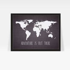 World map poster customizable color map world map art print large world map print w famous travel quote home decor print poster ikea wholesale gumiabroncs Choice Image