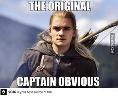 Oh, Legolas