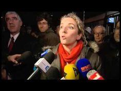 La Politique Delphine Batho à son arrivée à l'usine Lubrizol de Rouen - http://pouvoirpolitique.com/delphine-batho-a-son-arrivee-a-lusine-lubrizol-de-rouen/