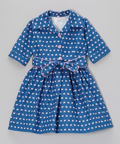 This Pink Vintage Camera Andrea Dress - Infant, Toddler & Girls by Pears + Bears by Kayce Hughes is perfect! #zulilyfinds