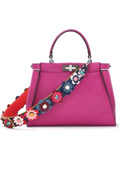 720b2289ad Deck out your bags with this ultra chic strap from Fendi