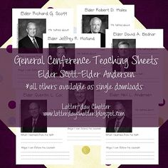 Latter-Day Chatter: General Conference Activities