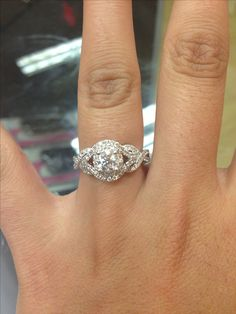 Fabulous Engagement ring from Kay Jewelers I would say yes in a heartbeat