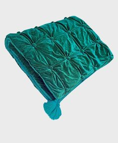 Teal Comforter, Teal Bedspread, Green Bedding, Velvet Quilt, Velvet Bed, Green Queen, Twin Quilt, Queen Quilt, Quilted Bedspreads