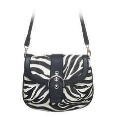 """Leigh-Zebra Grace Adele Clutch    Sophisticated — but never stuffy. Classic quilt detailing or sleek animal print cinched with an oversized silver buckle.     Fits inside the exterior pocket on your favorite Grace Adele bag.     • Faux leather  • 10"""" L, 8"""" H  • 50.5"""" detachable/adjustable strap    https://myfashions.graceadele.us/GraceAdele/Buy/ProductDetails/10663"""